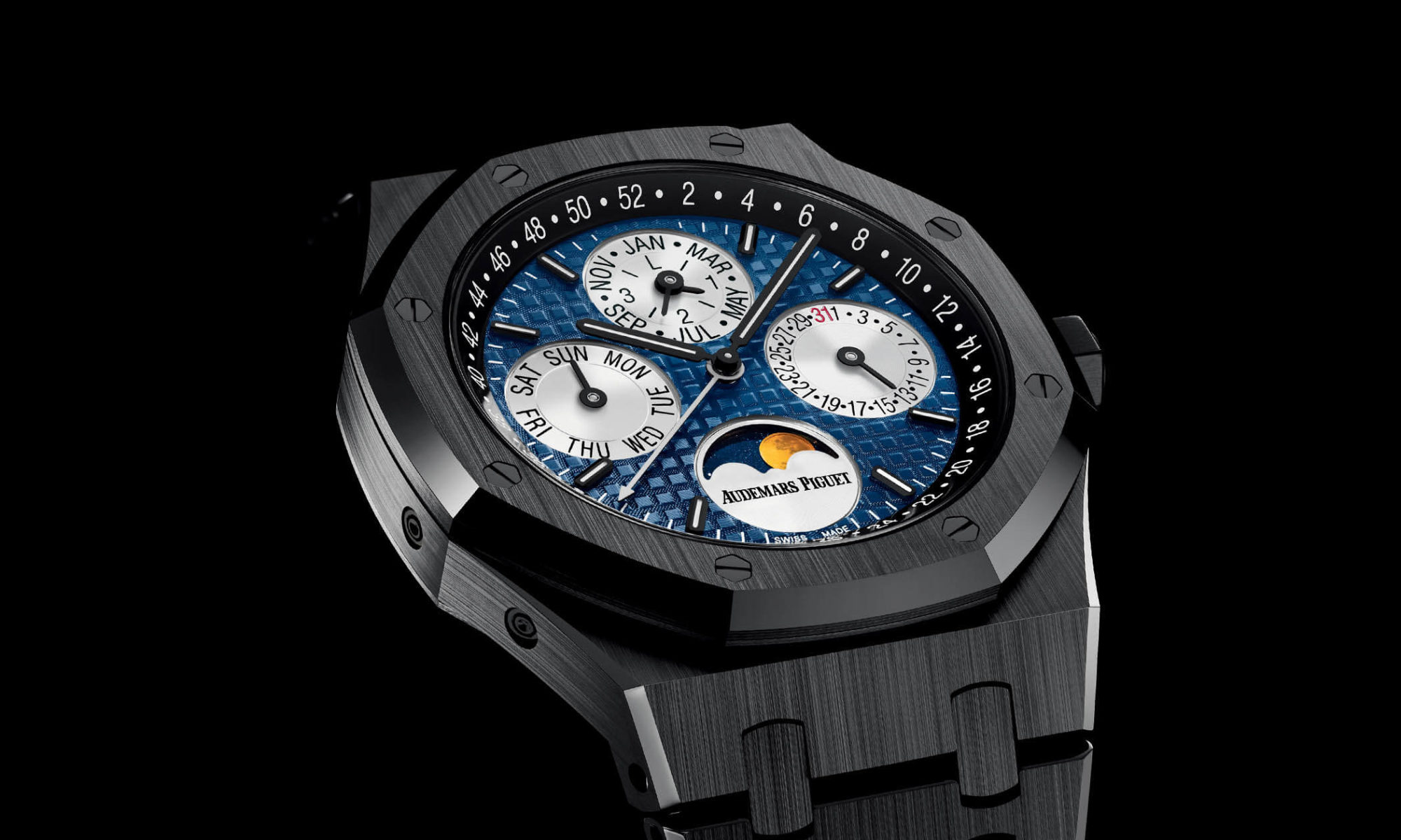 Audemars piguet royal oak ceramique onlywatch