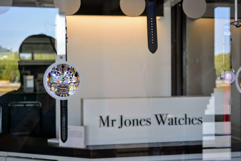 Mister Jones Watches shop exterior