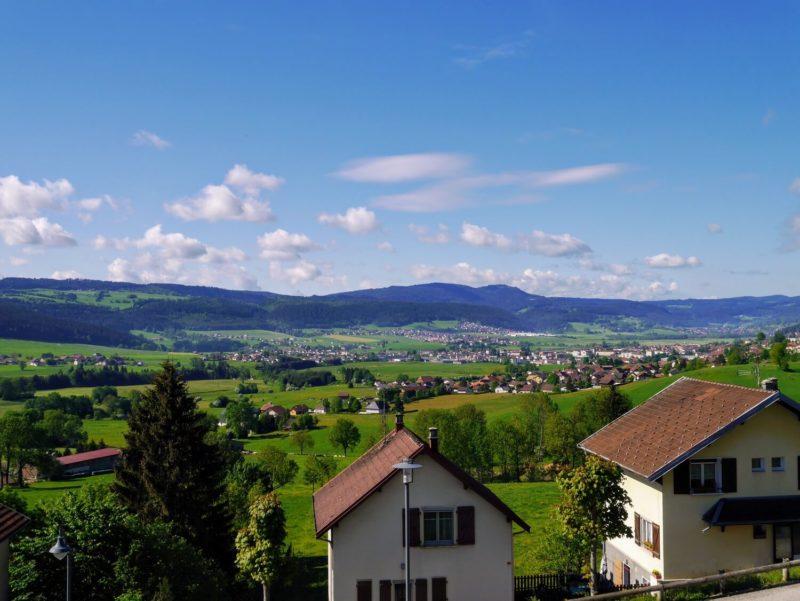 Plateau du Jura, proche de Morteau